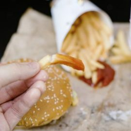 Hormone disrupting chemicals common in fast food packaging